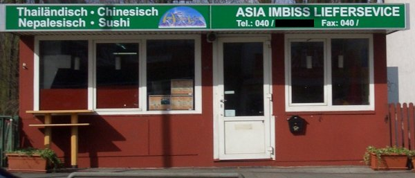 Asia Imbiss Liefersevice