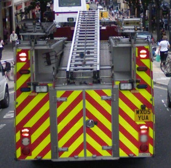 britische Feuerwehr