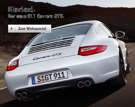 Porsche - Klartext. Der neue 911 Carrera GTS